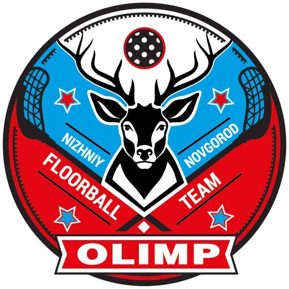 Флорбольный логотип команды Олимп
