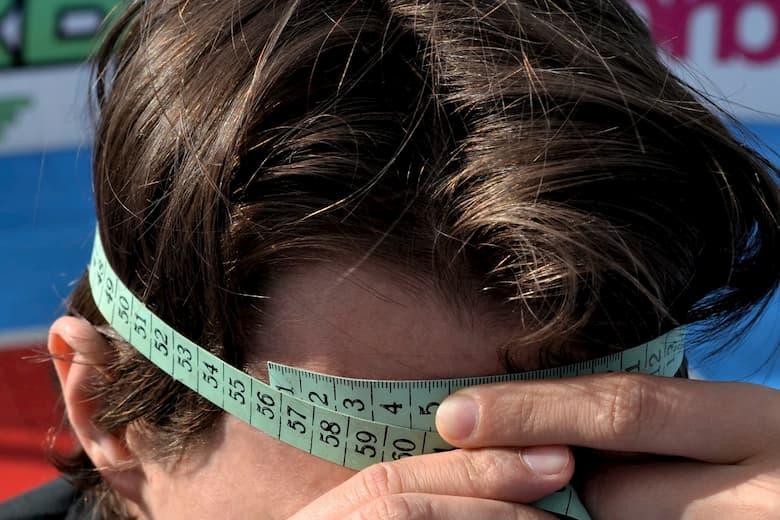 Как измерить окружность головы?